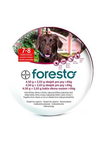 Foresto obojek pro psy 4.50 g + 2.03 g 8 kg