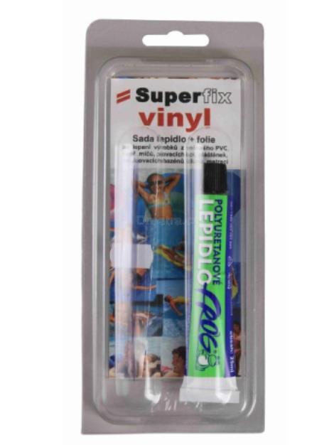 SuperFix Vinyl lepidlo na bazén 25ml + folie