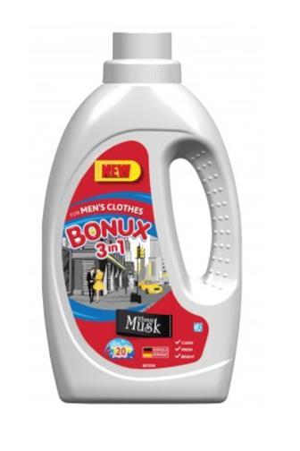 Bonux For men Vibrant Musk gelový prací prostředek 20 dávek 1,1 l