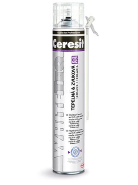 Ceresit WhiteTeq PU pěna trubičková 750 ml