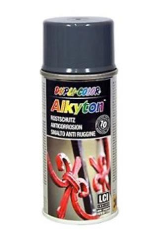 Alkyton Ral 7011 šedý lesk sprej prevence koroze 150 ml