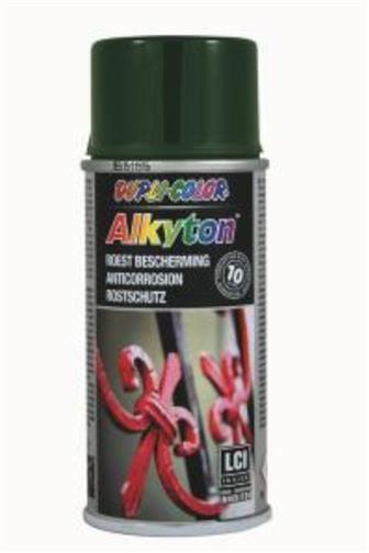 Alkyton Ral 6005 zelený lesk sprej prevence koroze 150 ml