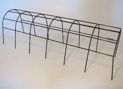 Mřížka opěrná truhlíková hnědá 60cm