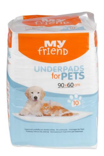 Podložky My Friend pro zvířata  90 x 60cm 10ks