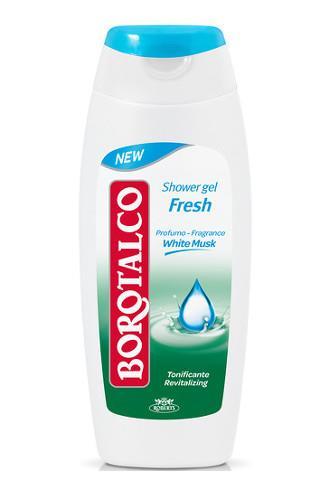 Borotalco Fresh White Musk sprchový gel 250 ml