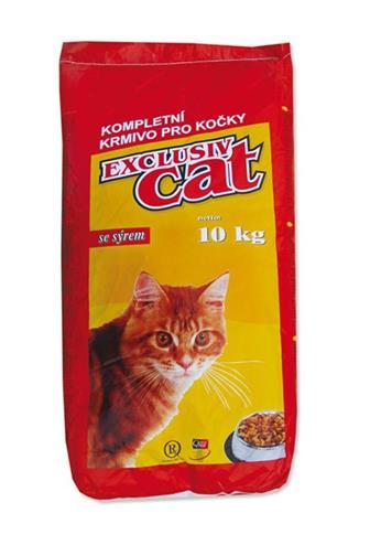 Delikan cat exclusiv se sýrem 10 kg