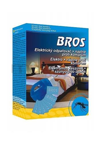 Bros el. odpařovač proti komárům + 10 ks náplń
