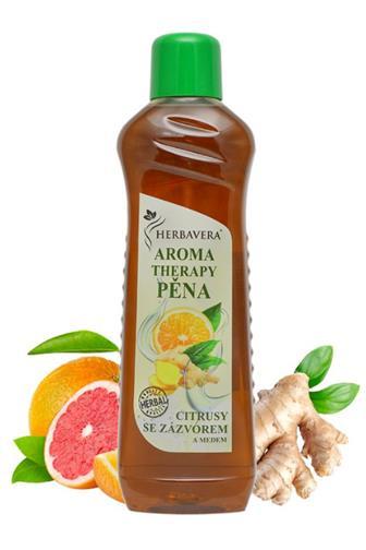Herbavera aroma therapy pěna citrus se zázvorem 1 l
