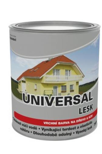 Akzo Nobel Universal lesk 1100 šedý střední 0,75 l