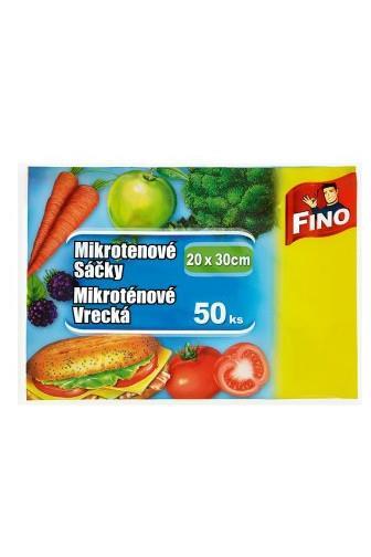 Fino mikrotenové sáčky 20 x 30 cm 50 ks