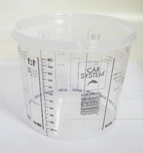Míchací pohár poměrový 1400ml