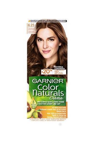 Garnier Color Naturals Créme barva na vlasy čokoládově karamelová 6.23