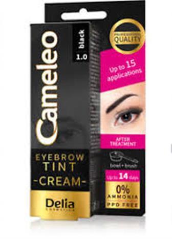 Cameleo barva na obočí 0% amoniak černá 15 ml