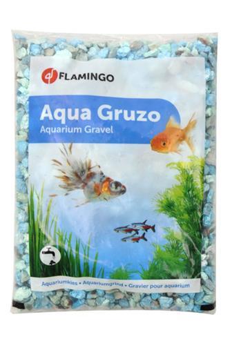 Písek akvarijní zelený mix odstínů Flamingo 900 g