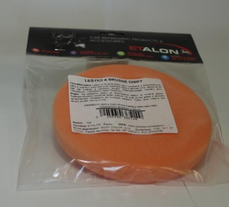 Body leštící a brusný PU 150 mmx25mm oranž.měkký