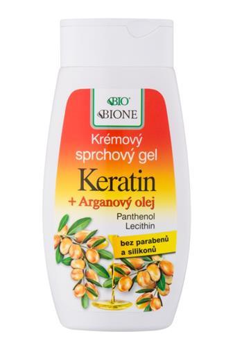 Bione Cosmetics Sprchový gel krémový argannový olej 260ml