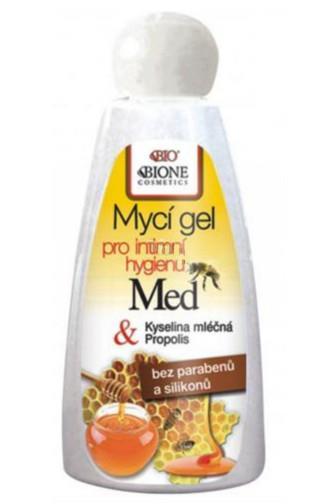 Bione Cosmetics Bio Med & Propolis Mycí gel pro intimní hygienu 260 ml