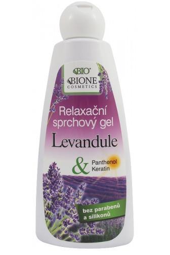 Bione Cosmetics Sprchový gel relaxační levandule 260 ml