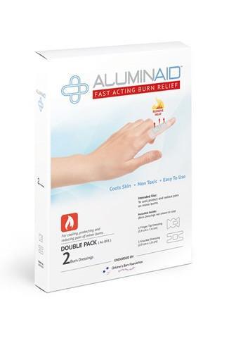Aluminaid náplasti na popáleniny malé 2ks