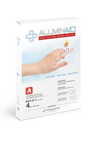 Aluminaid náplasti na popáleniny 4ks