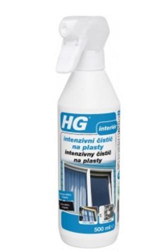 HG Intensivní čistič na plasty 500 ml