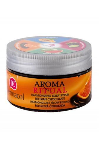 Dermacol Aroma ritual tělový peeling čokoláda 200 ml