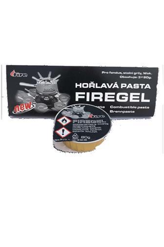 FireGel hořlavá pasta pro fondue, grily 3 x 80 g