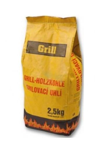 Dřevěné uhlí ke grilování 2,5kg