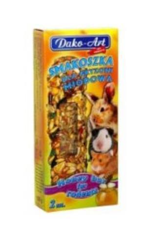 Dako-Art medové tyčinky pro hlodavce 2 ks