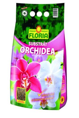 Agro Floria Substrát pro Orchidee 3l