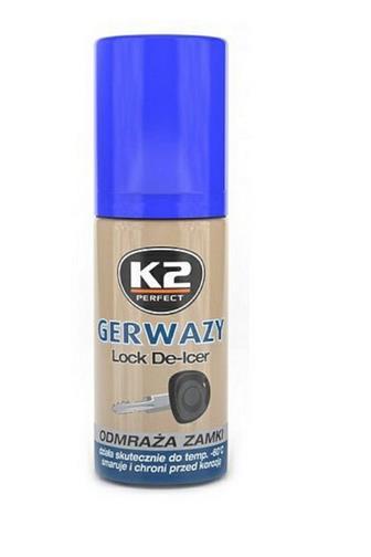K2 rozmrazovač zámků 50 ml