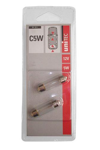 Žárovka C5W 12V 5W 2ks