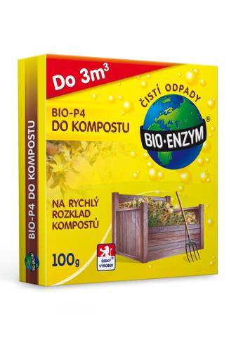 Bio Enzym P4 do kompostu 100 g