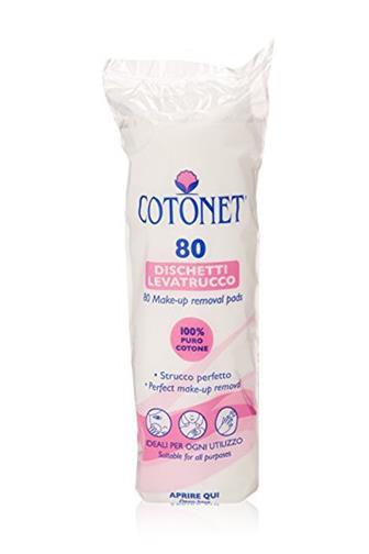 Cotonet odličovací tampony 100% bavlna 80 ks