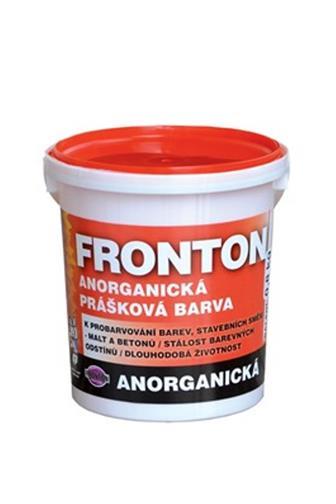 Fronton anorganická prášková barva 0452 modrý 0,8 kg