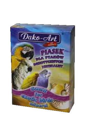 Dako-Art Minerální písek pro exotické ptáky 250 g