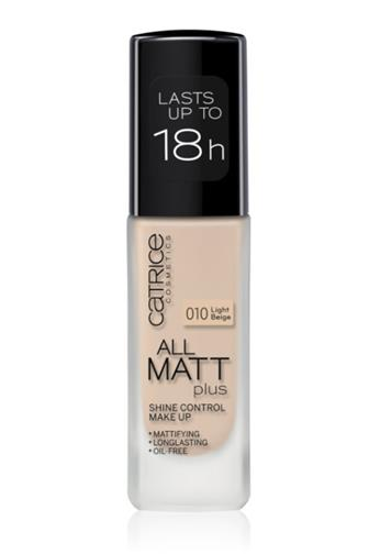 Catrice All Matt Plus make-up č.010 Light Beige 30 ml