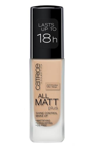 Catrice All Matt Plus make-up č.027 Amber Beige 30 ml