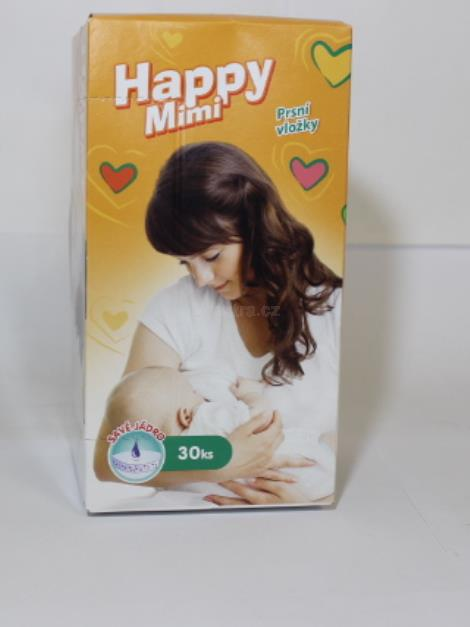 Happy Mimi prsní vložky 30ks