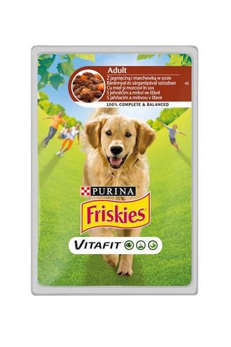 Friskies kapsička pes jehně/mrkev 100 g
