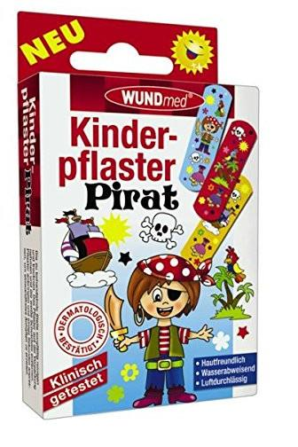 Wundmed Dětská náplast Pirát 10 ks