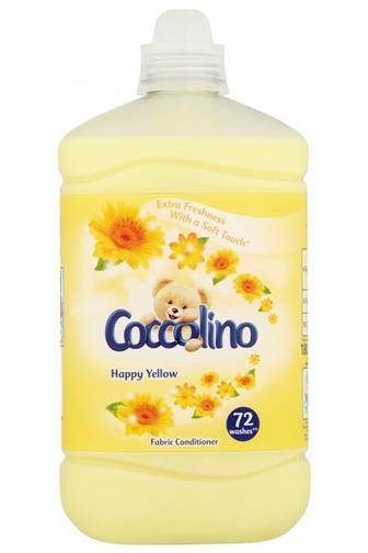 Coccolino aviváž Happy Yellow aviváž 72 dávek 1,8 l