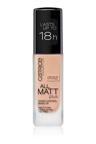 Catrice All Matt Plus make-up č.015 Vanilla Beige 30 ml
