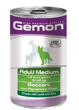 Gemon Adult Medium jehně+rýže 1250 g
