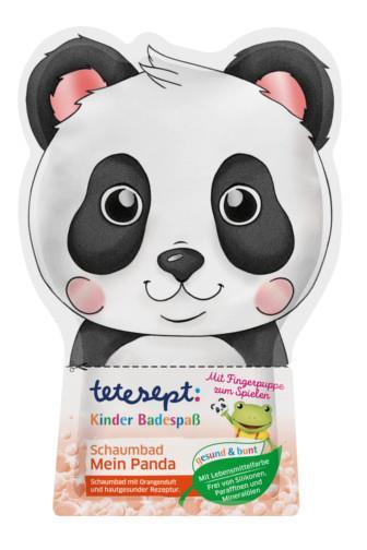 Tetesept dětská koupel barevná Panda 50 g