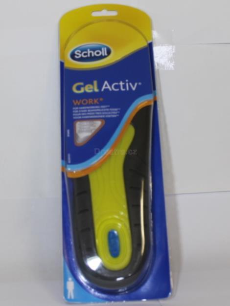 Scholl Work gelové vložky do bot do práce (muži)