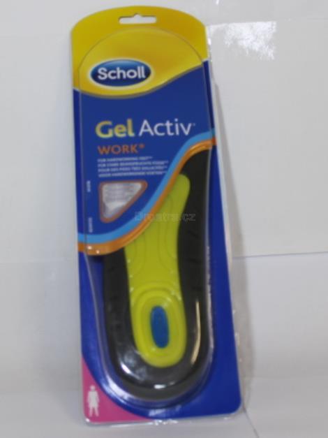Scholl Work gelové vložky do bot do práce (ženy)