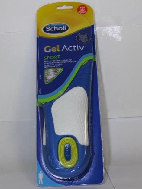Scholl Sport gelové vložky do bot (muži)