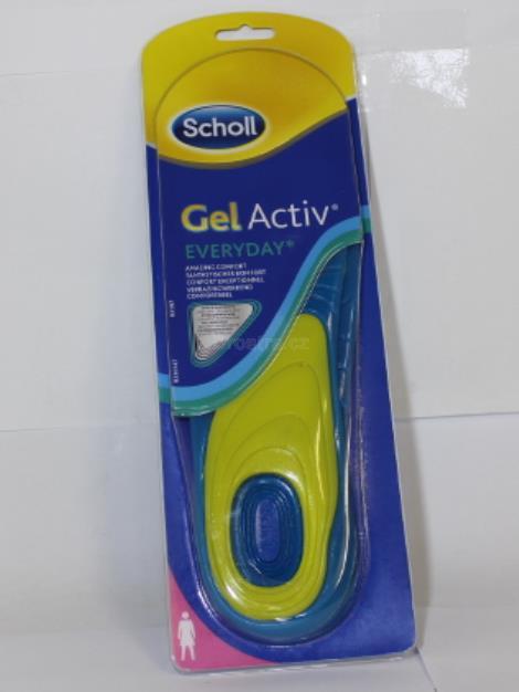 Scholl Everyday gelové vložky do bot (ženy)