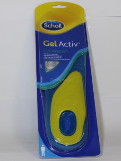 Scholl Everyday gelové vložky do bot (muži)